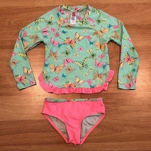 HULA STAR girls swimwear swim suit long sleeve 5